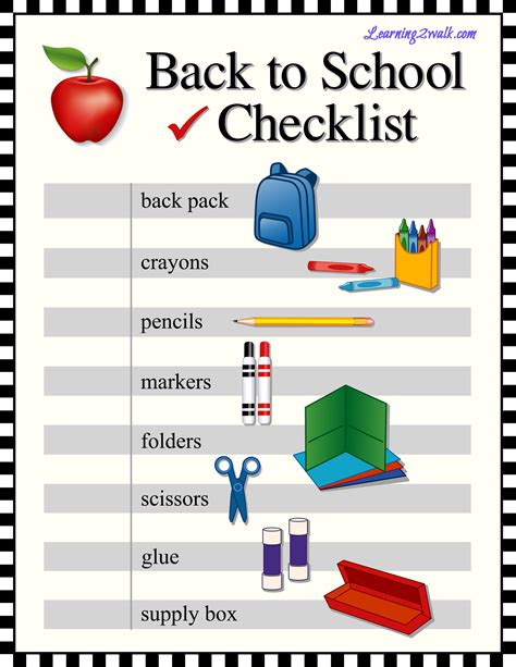 school supply list for preschool preschool supplies list for homeschoolers 744