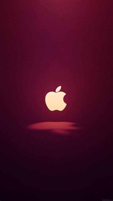 fonds decran apple minimalistes pour iphone ipad