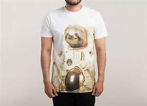 Astronaut Sloth by BakusPT | Threadless