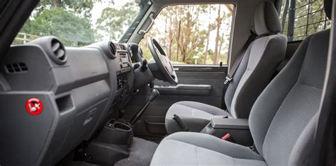 toyota landcruiser  series single cab ute review