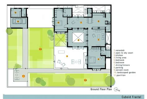 golden ratio house design cuboid fractal greyscale design studio archdaily