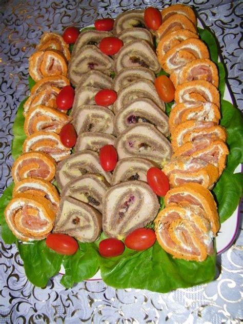 cuisine pavé de saumon roule tomate ail et fines herbes et saumon fume les