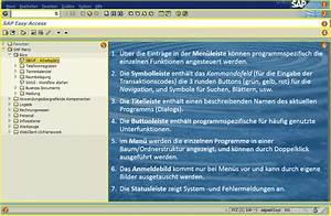 SAP - LogOn & Menü & Navigation