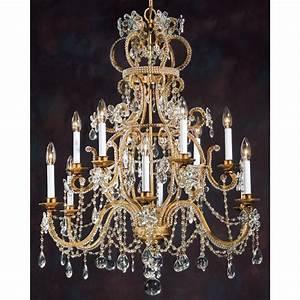 Lustre à Pampilles : lustre baroque pampilles de cristal en forme de couronne i ~ Teatrodelosmanantiales.com Idées de Décoration