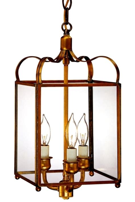 colonial pendant hanging copper lantern kitchen light