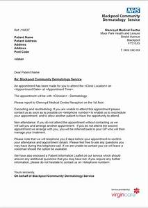 [ Nhs Patient Appointment Letter Template ] - Best Free