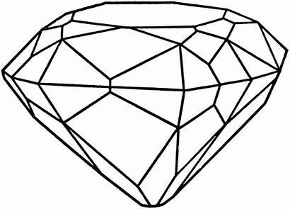 Diamond Clip Clipart Drawing Cliparts Diamonds Purple