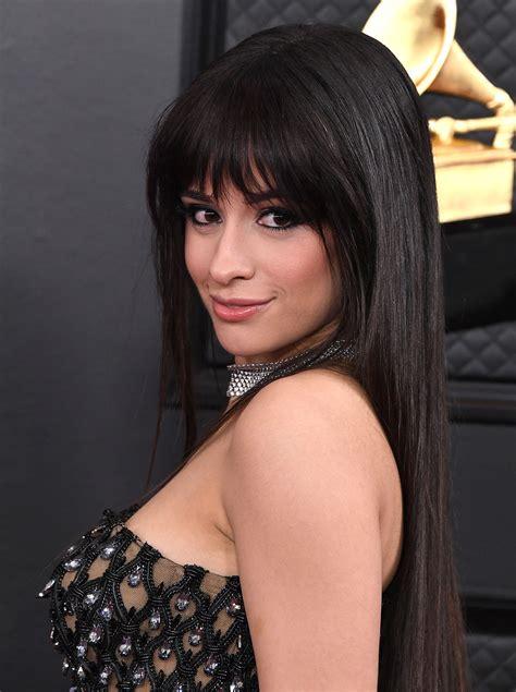 foto de Camila Cabello Debuted New Bangs at the 2020 Grammy Awards