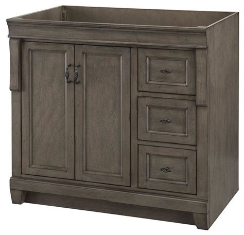 Distressed Bathroom Vanity 36 by Foremost Cabinets Naples 36 In W Vanity Cabinet Only In
