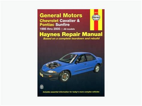 hayes auto repair manual 1997 pontiac sunfire engine control haynes repair manual for chevrolet cavalier or pontiac sunfire west carleton gatineau