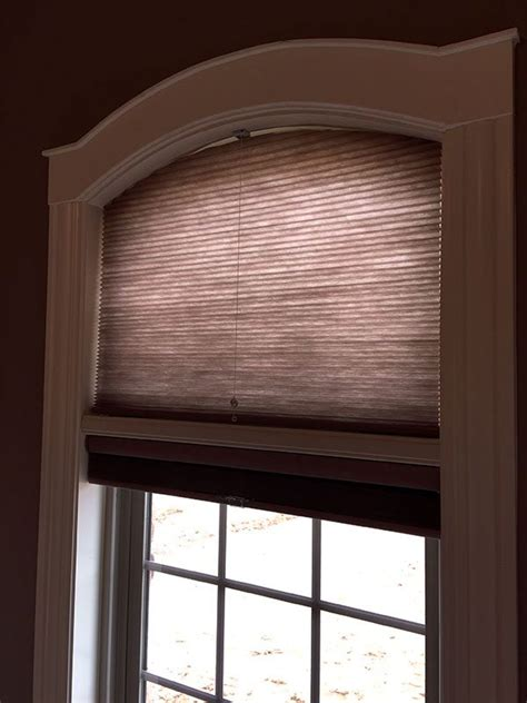 specialty shapes columbia blinds  shutters