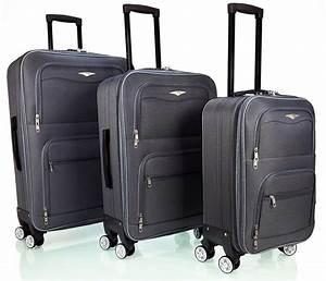 Kleiner Koffer Mit 4 Rollen : super leicht reisekoffer stoff mit 4 rollen m l xl set ~ Kayakingforconservation.com Haus und Dekorationen