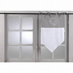 Voilage Brise Bise : voilage brise bise 45 x 70 cm ~ Teatrodelosmanantiales.com Idées de Décoration