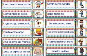Oraciones con ilustraciones para primer y segundo grado de primaria Educación Primaria