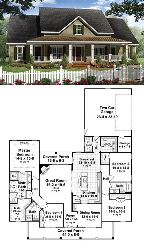 blue prints for homes open floor plan colonial homes house plans