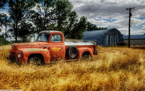 The Gallery For --> Old Truck Wallpaper