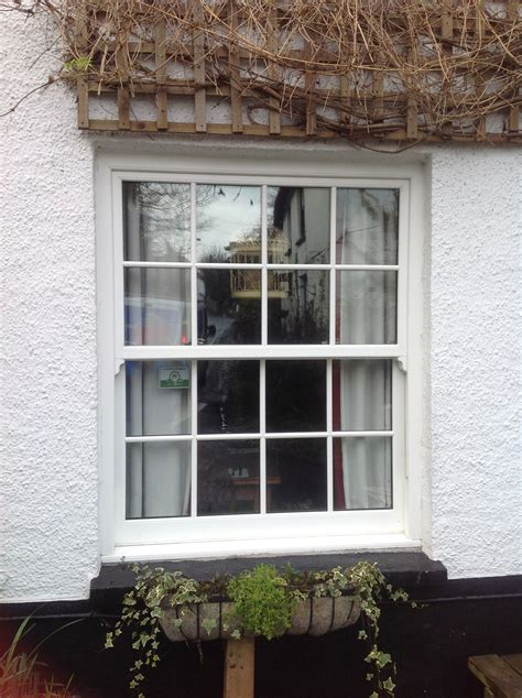 modern vertical sash replacement windows  north devon homes