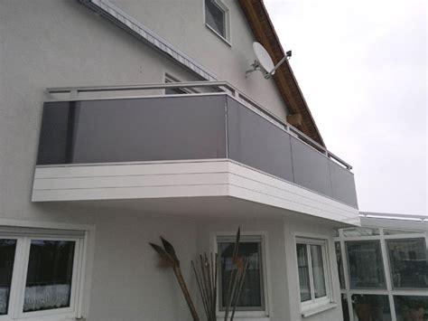 Balkonverkleidungen Aus Glas by Balkone Missel Alu Und Glas