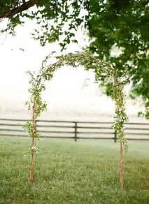 Simple Outdoor Wedding Arch