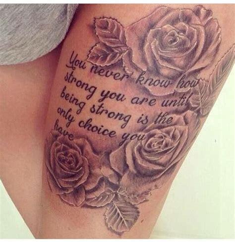 thigh tattoos  women ideas  pinterest