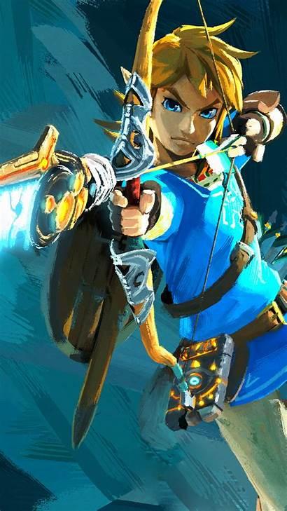Breath Zelda Wild Legend Wallpapers Iphone Fondos