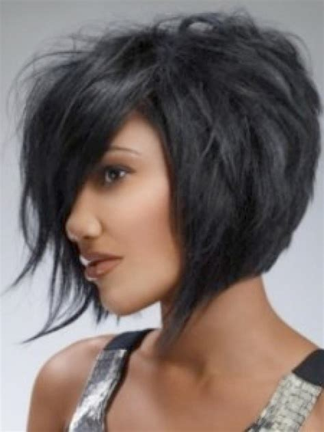 pictures of black layered bob hairstyles