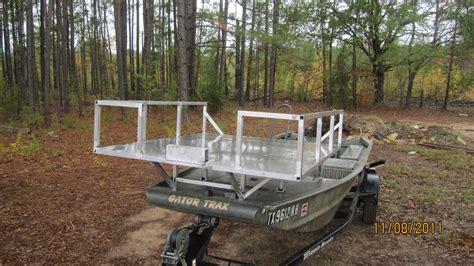 house open floor plans 60 quot x 52 quot bowfishing deck