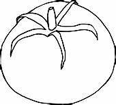 Tomato Black And White Clipart - Clipart Suggest