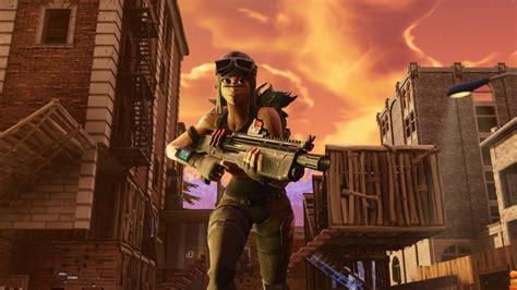 renegade raider holding heavy sniper fortnite hd games