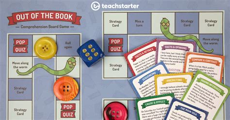 fun classroom comprehension strategies board game
