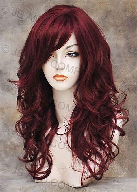 burgundy hair style types 8 burgundy violet hair color serpden of 29 model
