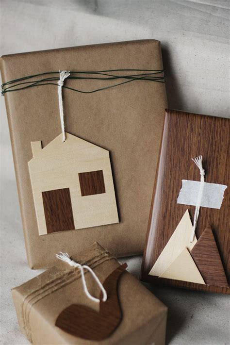 diy wooden gift tags  sweetest occasion