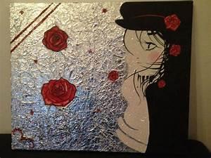Peinture Visage Femme : peinture visage femme ~ Melissatoandfro.com Idées de Décoration