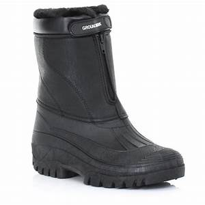 Mens garden mucker wellies wellington winter warm for Mens garden boots
