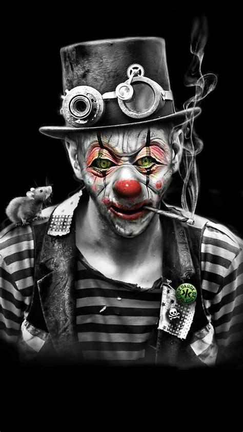 pin  tabitha lowry wong  clowns joker art joker