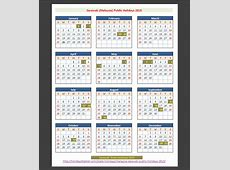 Sarawak Malaysia Public Holidays 2015 – Holidays Tracker
