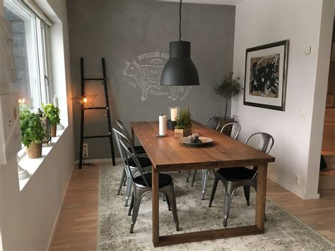 Ikea Esszimmer by Ikea Table Morbylanga Tolix Table And Chairs Modern