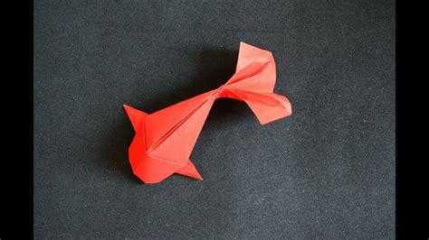 Origami Fish Koi Riccardo Foschi Youtube