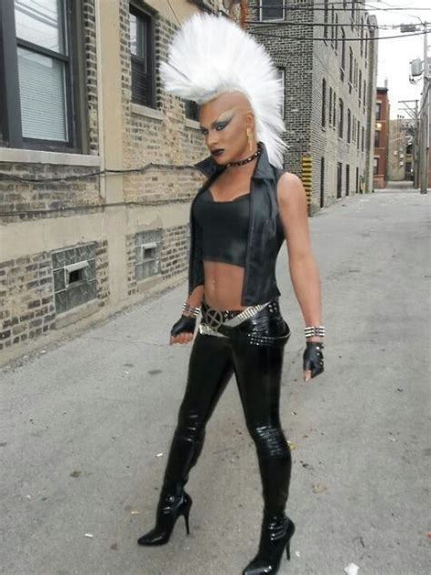 punk storm cosplay  marvel costume inspiration
