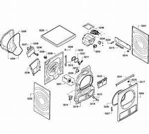Bosch Model Wte86300us  09 Residential Dryer Genuine Parts