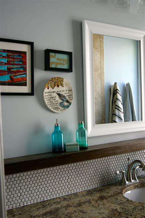 remodelaholic tips  installing  penny tile
