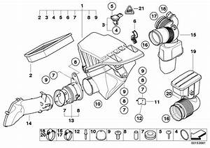 13717521033 - Air Filter Element  Intake  Oil  Service