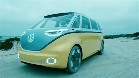 concept bus far out vw plans an electric hippie bus
