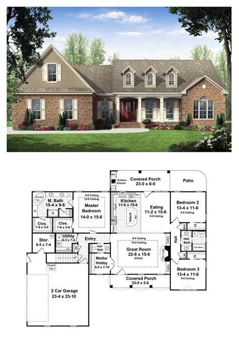 outdoor living house plans 59 best images about country house plans on