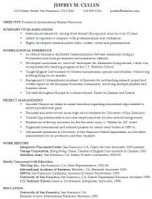 resume format for job hopper resume for international human resources susan ireland resumes