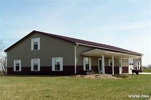 steel building homes residential steel buildings With 2 story metal building kit