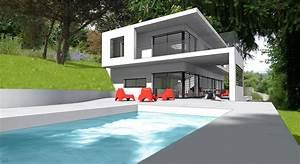Plan De Maison D Architecte : plan gratuit maison contemporaine do deco pod de maison ~ Melissatoandfro.com Idées de Décoration