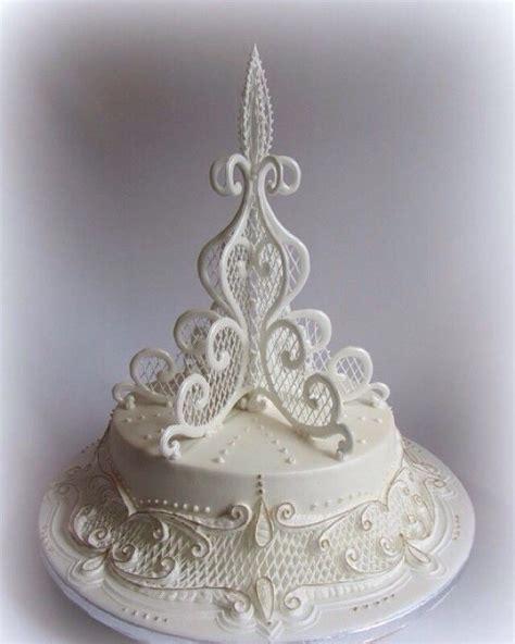 images  filigree cakes  pinterest lace
