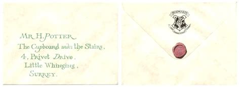 harry potter envelope template harry potter letter harry potter letter template