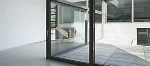 Baie Vitree A Galandage 2 Vantaux : baie vitr e galandage rails coulissants pvc bois alu ~ Edinachiropracticcenter.com Idées de Décoration